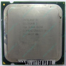Процессор Intel Celeron D 336 (2.8GHz /256kb /533MHz) SL8H9 s.775 (Гольяново)